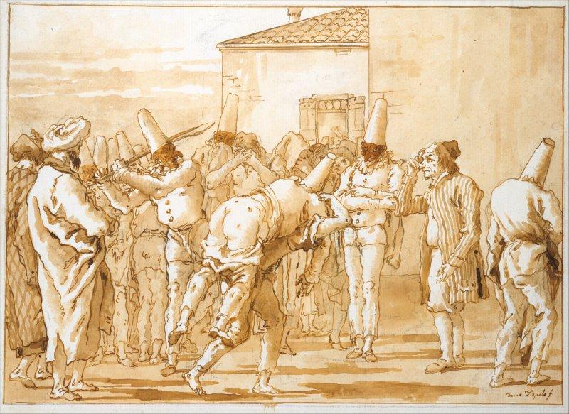 ג'ובני דומניקו טייפולו, המאה ה18