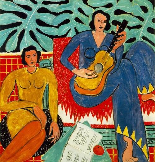 אנרי מאטיס, מוזיקה, 1939