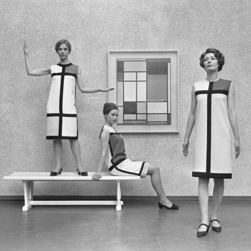 איב סאן לורן, שמלות מונדריאן, 1966
