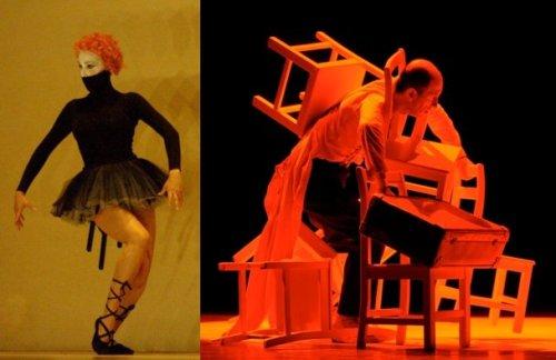משמאל, מתוך אויסטר, מימין מתוך ראשס, מאת ענבל פינטו ואבשלום פולק.
