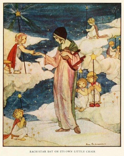 איור, ריי קרמר (Rie Cramer) 1927 מתנת הכוכבים