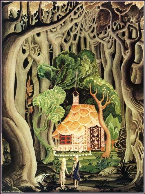בית הממתקים של המכשפה, אייר קאי נילסן, 1925