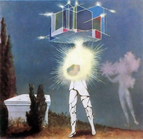 """מרט אופנהיים, שמש, ירח וכוכבים, 1942. גיבורת """"כל מיני פרוות"""" מבקשת מאביה שמלות אור שמש, אור ירח ואור כוכבים בתקווה שייכשל ויוותר על הנישואין, וכשזה לא עובד היא מבקשת גלימת אלף פרוות ובורחת. לפי האינטואיציה העקשנית שלי הציור של מרט אופנהיים מתייחס למעשייה. ואם רוצים אגב, אפשר גם לקרוא לכלל יצירתה של מרט אופנהיים """"כל מיני פרוות"""", אבל על כך בפעם אחרת."""