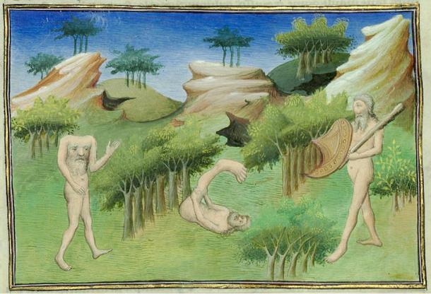 מפלצות אנושיות מימי הביניים