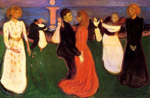 אדוורד מונק, ריקוד החיים (1890-1899)