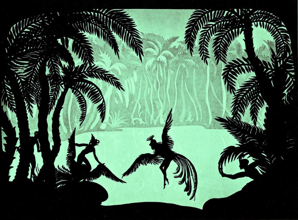 מתוך סרטה של לוטה רייניגר, אנימטורית הצלליות (1981-1899),