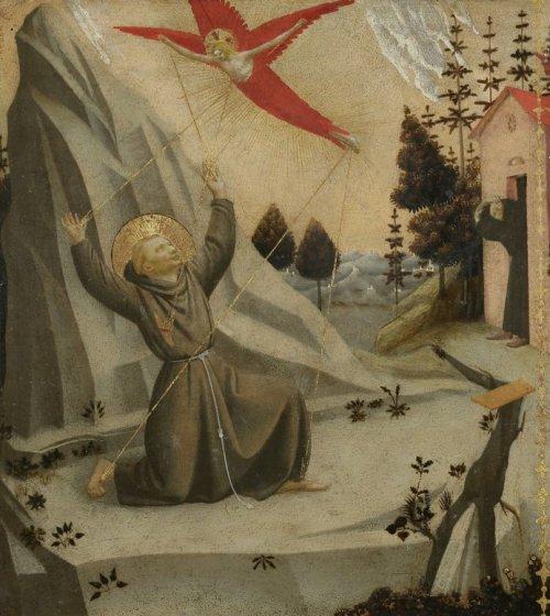 פרה אנג'ליקו, פרנציסקוס הקדוש מקבל את פצעי הסטיגמטה