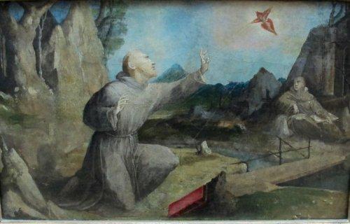 אל הציפור. domenico beccafumi 1537 (אני עדיין תוהה על האדום שלמטה).
